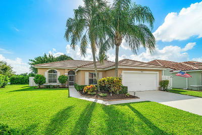 Lake Worth Single Family Home Contingent: 5986 Las Colinas Circle