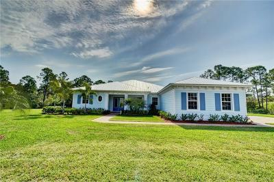 Stuart Single Family Home For Sale: 274 SW Cocoloba Way