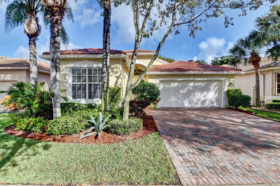 Delray Beach Single Family Home For Sale: 7015 Imperial Beach Circle