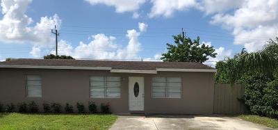 Lake Worth Single Family Home Contingent: 3005 Vassallo Avenue