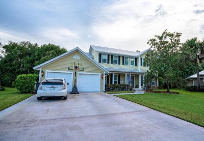 Palm City Single Family Home For Sale: 3500 SW Thistlewood Lane