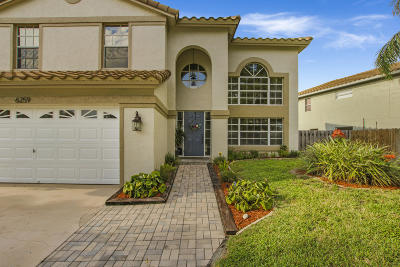 Boynton Beach Single Family Home For Sale: 6259 Windlass Circle