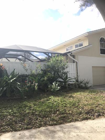 Palm Beach Gardens Townhouse For Sale: 5198 Woodruff Lane