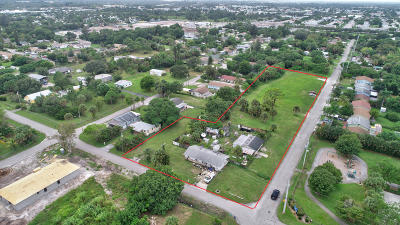West Palm Beach Single Family Home For Sale: 2707 Old Military Trail