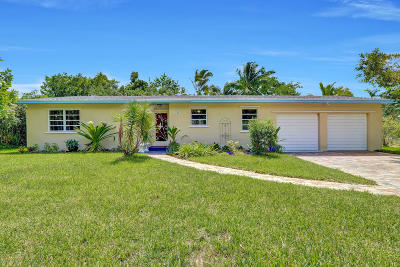 West Palm Beach Single Family Home For Sale: 3184 Karl Road