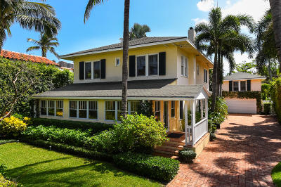 Palm Beach Single Family Home For Sale: 350 Seaspray Avenue