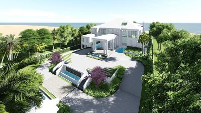 Delray Beach Single Family Home For Sale: 701 S Ocean Boulevard