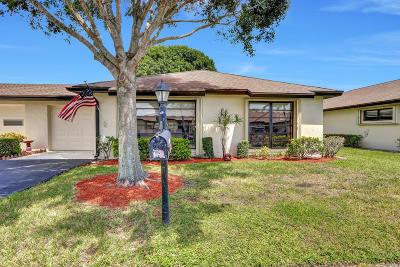 Boynton Beach Single Family Home For Sale: 10198 Dovewood Lane #B