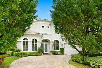 Palm Beach Gardens Single Family Home For Sale: 110 Tranquilla Drive