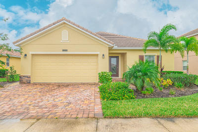 St Lucie County Single Family Home For Sale: 11390 SW Halton Street