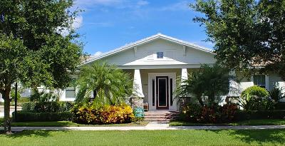 Jupiter Single Family Home For Sale: 2710 W Mallory Boulevard