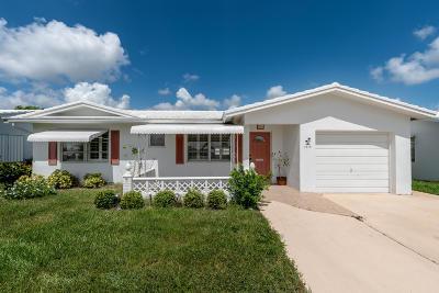 Boynton Beach Single Family Home For Sale: 1819 SW Congress Boulevard