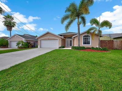 Jupiter Single Family Home Contingent: 6359 Dania Street