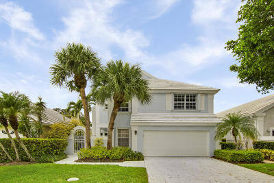 Palm Beach Gardens Single Family Home For Sale: 34 Windsor Lane