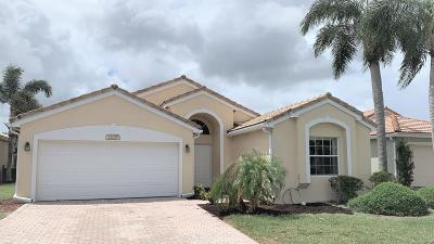 Boynton Beach Single Family Home For Sale: 12155 Cordia Drive