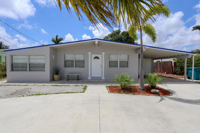 Boynton Beach Single Family Home For Sale: 982 Old Boynton Road