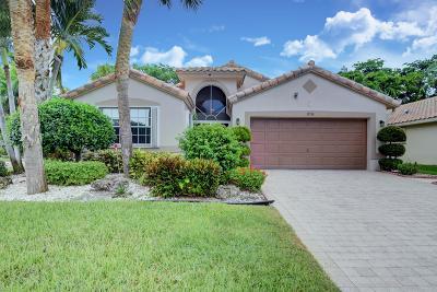 Boynton Beach Single Family Home For Sale: 11530 Cherrybrook Lane