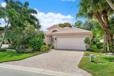 Boynton Beach Single Family Home For Sale: 6578 Bali Hai Drive