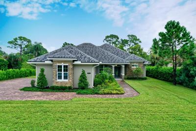 Martin County Single Family Home For Sale: 1033 SW Squire Johns Lane