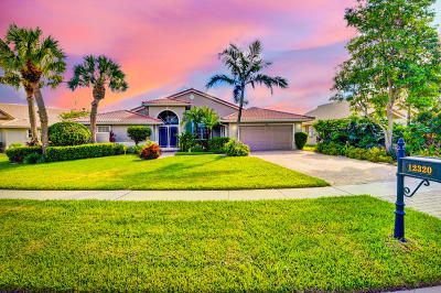 Boynton Beach Single Family Home For Sale: 12320 Glen Falls Lane