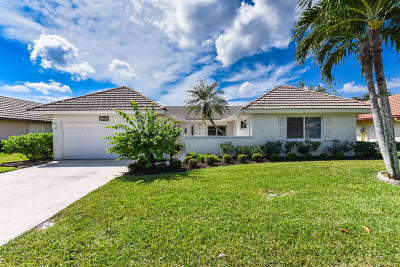 Boynton Beach Single Family Home For Sale: 10354 Greentrail Drive N