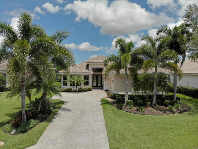 Port Saint Lucie Single Family Home For Sale: 7932 Links Way
