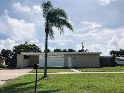Palm Springs Single Family Home For Sale: 128 Davis Road
