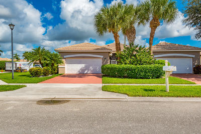 Boynton Beach Single Family Home For Sale: 5707 Emerald Cay Terrace
