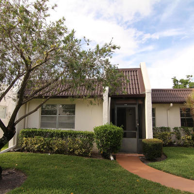 West Palm Beach Single Family Home For Sale: 143 Lake Susan Drive