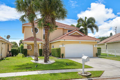 Boynton Beach Single Family Home For Sale: 12271 Sand Wedge Drive