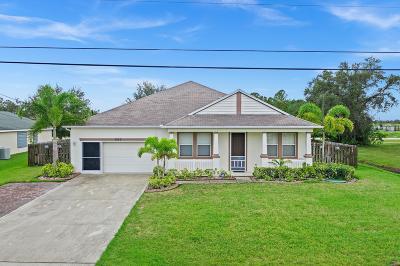 Port Saint Lucie Single Family Home For Sale: 6125 NW Duke Circle