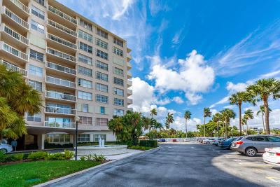 West Palm Beach Condo For Sale: 2600 Flagler Drive #509