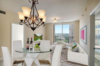 West Palm Beach Condo For Sale: 550 Okeechobee Boulevard #1607