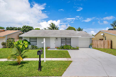 Lake Worth Single Family Home For Sale: 5900 W Judd Falls Road W