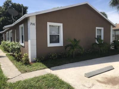 West Palm Beach Multi Family Home For Sale: 716 57th Street
