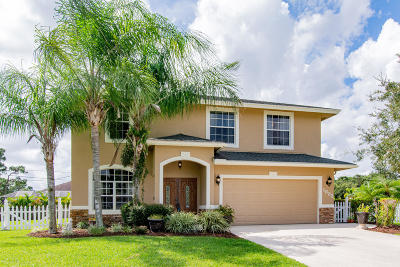 Port Saint Lucie Single Family Home For Sale: 1832 SW Grant Avenue