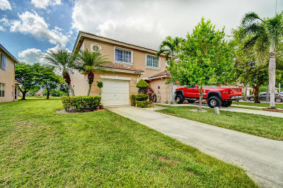 Lake Worth Townhouse For Sale: 6881 Brook Hollow Road