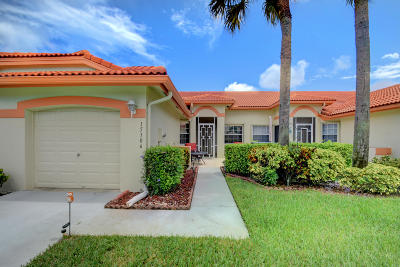 Delray Beach Single Family Home For Sale: 15306 W Tranquillity Lake Drive