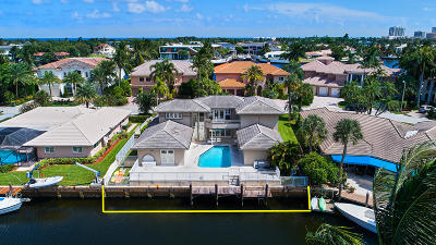 Boca Raton Single Family Home For Sale: 591 Golden Harbour Drive