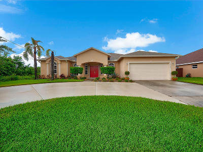 St Lucie County Single Family Home For Sale: 4162 SW Ragen Street