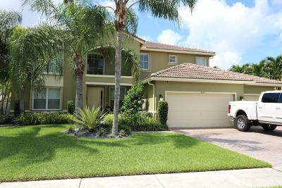 Lake Worth Single Family Home For Sale: 6223 C Durham Drive