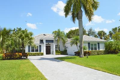 Palm Beach Gardens Single Family Home For Sale: 5595 Sea Biscuit Road