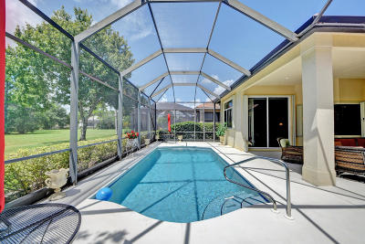 Port Saint Lucie Single Family Home For Sale: 7603 Greenbrier Circle