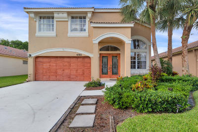 Lake Worth Single Family Home For Sale: 6368 Branchwood Drive