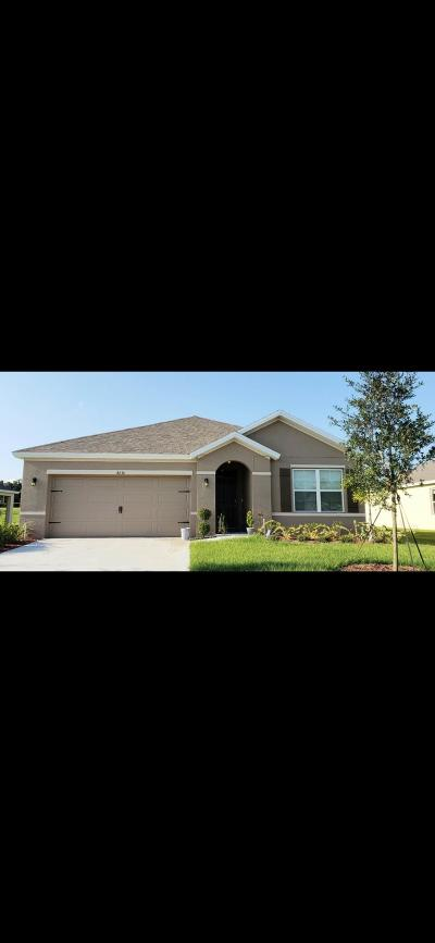 Fort Pierce Single Family Home For Sale: 8636 Cobblestone Drive