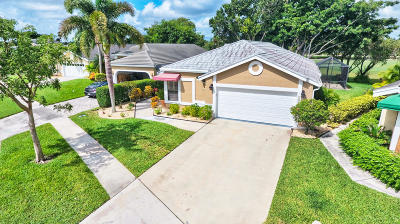 Lake Worth Single Family Home For Sale: 6097 Beaconwood Road