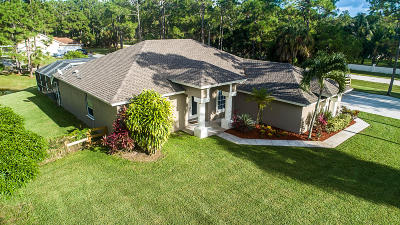 Loxahatchee Single Family Home For Sale: 7396 Banyan Boulevard