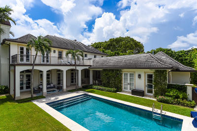 Palm Beach Single Family Home For Sale: 341 Garden Road