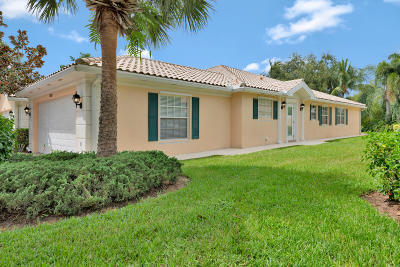 Palm Beach Gardens Single Family Home For Sale: 1350 Saint Lawrence Drive