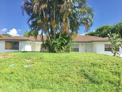 Fort Pierce Multi Family Home For Sale: 924 Wagner Place